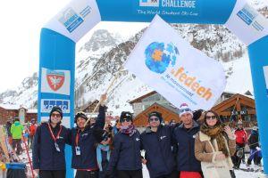 L'équipe du Challenge Ski au complet