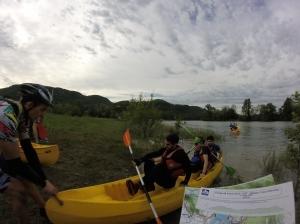 Epreuve du Kayak