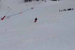 Antoine sur le slalom Marie BOCHET - Trophé Handisport